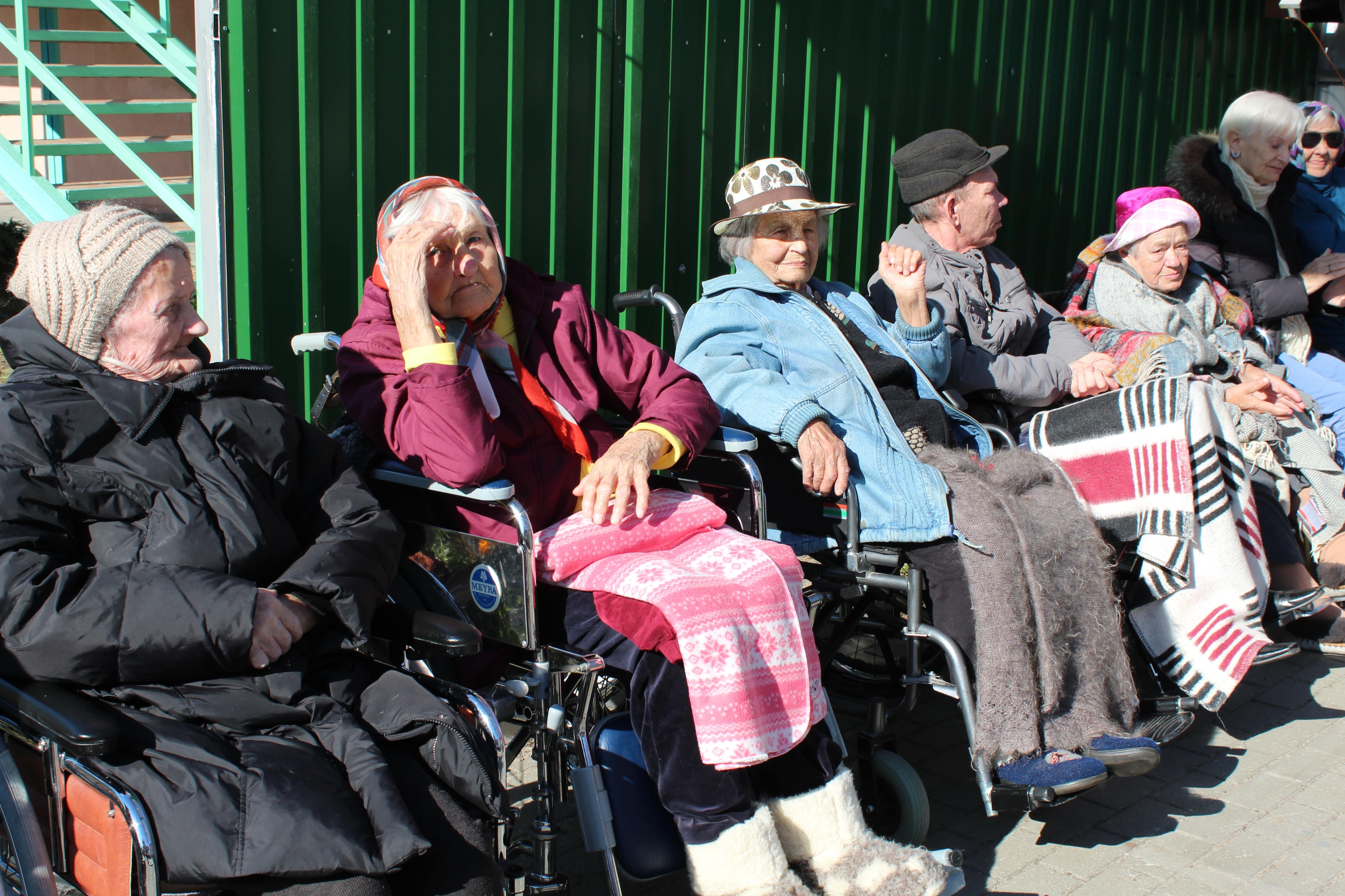 В День пожилого человека